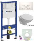 Geberit-UP-100-+-Laufen-compact-wc-+zitt.+-Delta-21-witglans