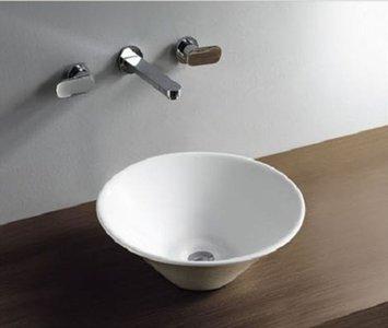 Circle opzetwastafel 420x420x150mm
