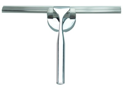 Luxe RVS badkamer-wisser 25cm +ophanging